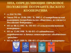 Закон РФ № 3085-1 от 19.06.1992