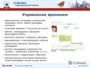 Технология управления корпоративным порталом для сотрудников