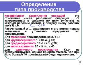 Коэффициентно-долевой метод при серийном, многономенклатурном производстве