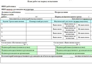 Оценка персонала в период испытательного срока
