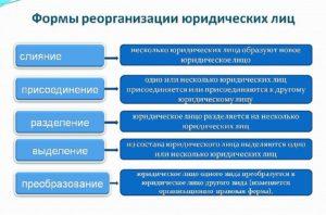 Реорганизация: определение и оформление