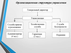 Управление организационной структурой
