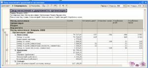 Пример формы отчета по заработной плате