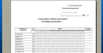 Составляйте графики работы водителей по новым правилам