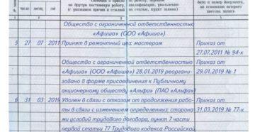 Увольнение по статье 77 пункт 7 ТК РФ