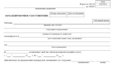 Командировочное удостоверение в 2019 году: бланк