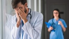 Сокращение медицинских работников