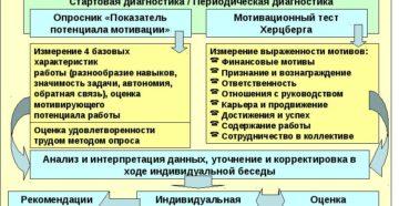 Карты трудовых мотиваторов