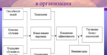 Обучение персонала в организации
