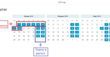 Отпуск в январе 2019 года: как считать дни отпуска?